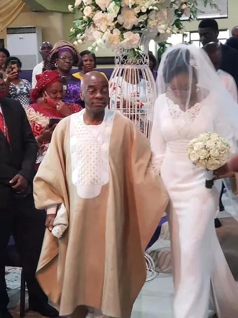 Lovely Photos From Bishop David Oyedepo's Daughter's Wedding