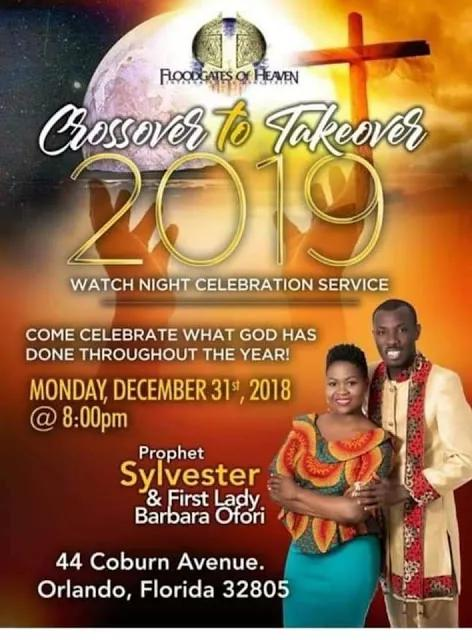 Ghanaian Pastor Sylvester Ofori