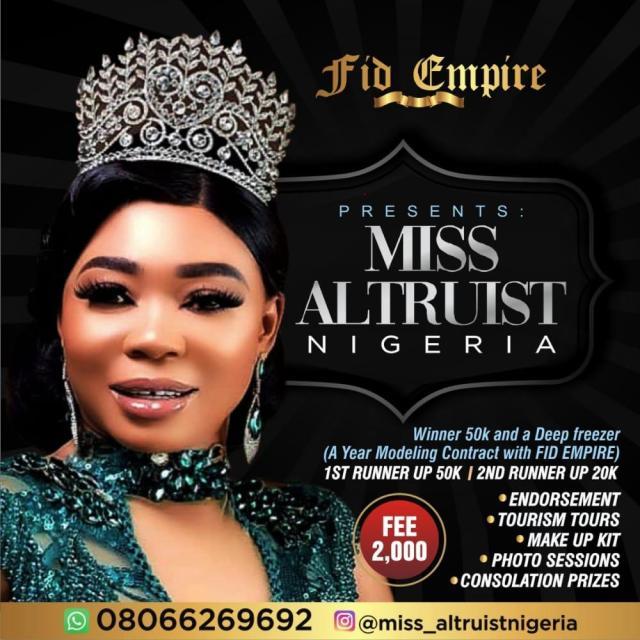 Miss Altruist Nigeria