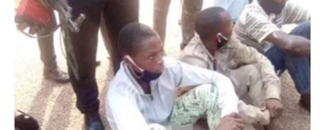 Police Officers Burnt By EndSars