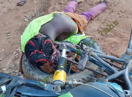 Female Motorcycle Rider Dies