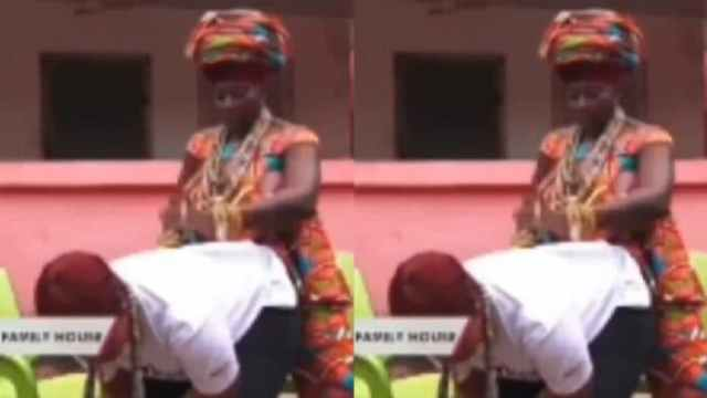 Guys Here Is the New Covid-19 $£x Position For Couples According to Akumaa Mama Zimbi (VIDEO)