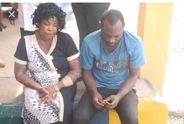 Abomination!!! See the Woman Who Was Gang Raped By Her Son and His Four Friends in Enugu