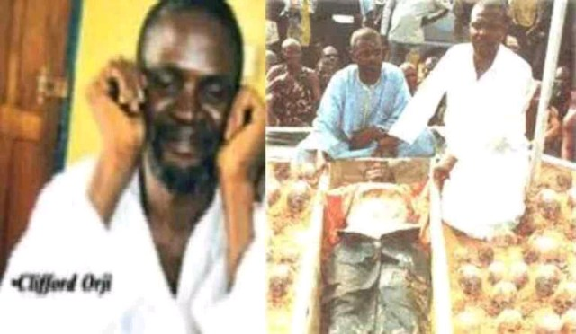 Remember Clifford Orji The Cannibal Man That Eats Human Body Parts In Lagos? See The Numbers Of People He Fed On