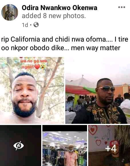 """""""Nkpor Has Been Stained With Blood"""" - Community Weeps Over Two Businessmen Shot Dead By Unknown Gunmen"""