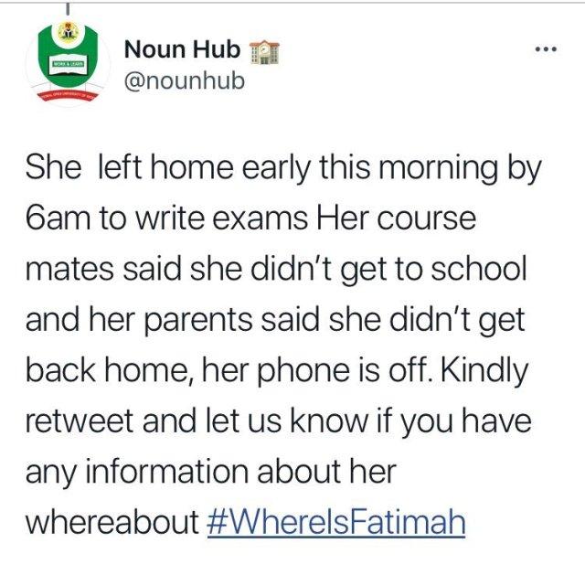 Death Strikes Again, As NOUN Student Who Set Out To Write Exam Found Dead Around Gbagada Area