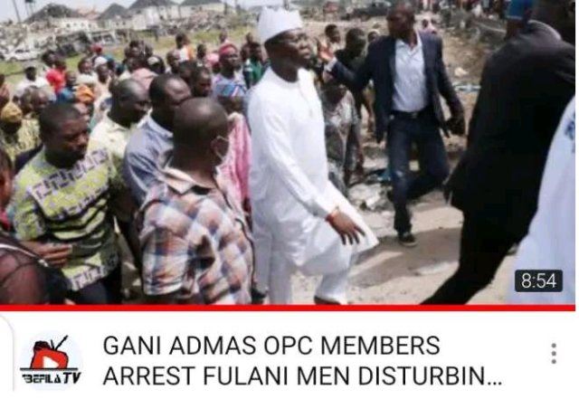 See What OPC Group Did To Suspected Fulani Kidnappers Disturbing Igangan Town