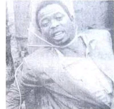 Lawrence Anini, The Notorious Armed Robber Who Was A King In The World Of Crime in Nigeria (VIDEO)
