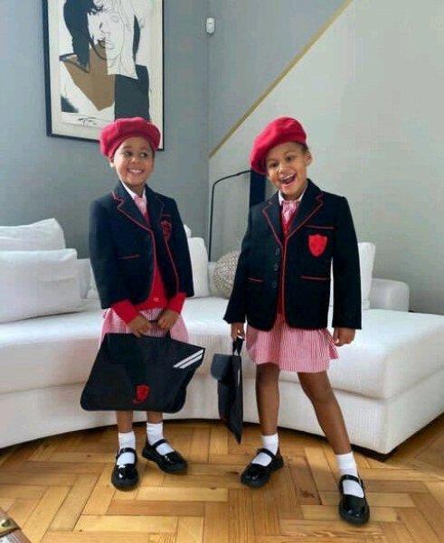 Mikel Obi's Twin Daughters