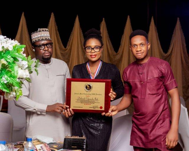 DHDC Executive Director- Deborah Ogwuche-Ikeh bags Africa CEO Merit Awards