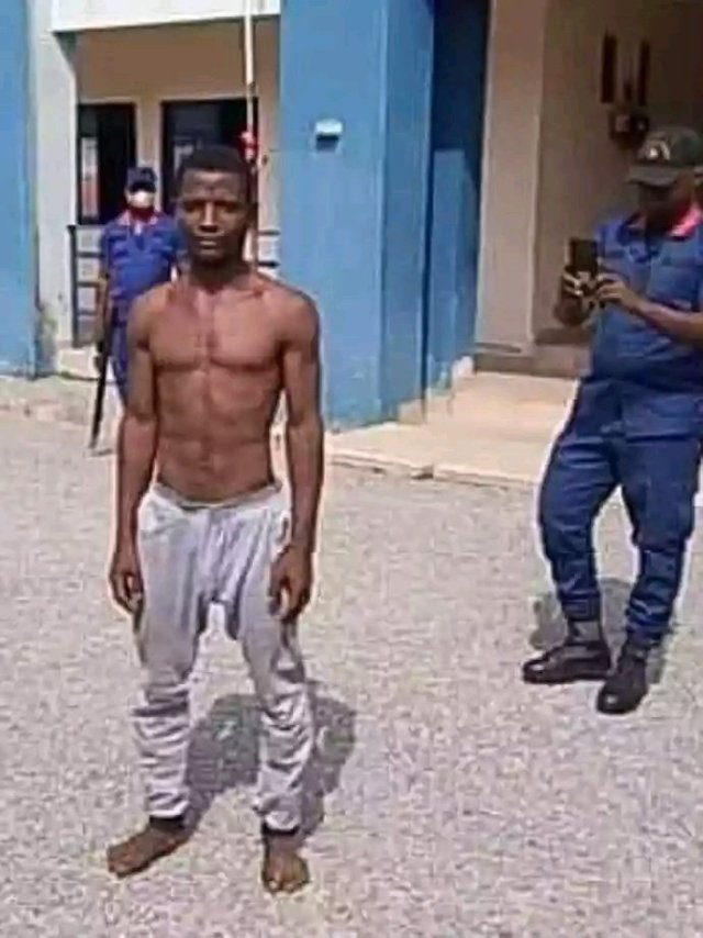 EVIL!!! This Man Raped A 3-Months Old Baby, Destroye Her Intestine And S*x Organs