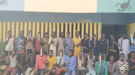 Heartless: See the Girl Locked in A Room for 10 Years By Her Parents Rescued by Police in Kano