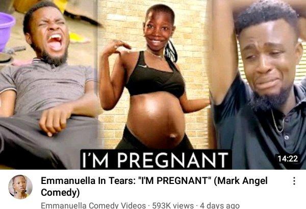Finally, Nigerian Teenage Comedienne Emmanuel Opens Up On Pregnancy Rumor