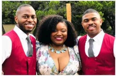 Wawo! See the Pretty Lady Who Married Two Men and Service Them Both Well Equally