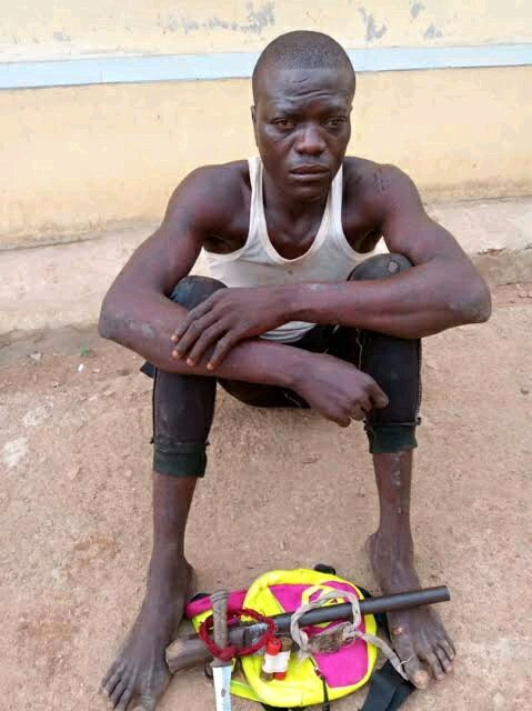 EXPOSED!!! See Photos Of Deadly Charms Used By Bandits To Prevent Bullets From Entering Their Body