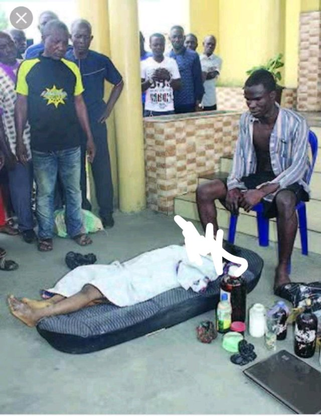 REMEMBER The Ritualist Who Killed An Innocent Girl For Ritual? See Where He Is Currently