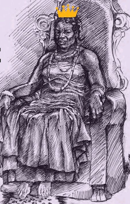Memory Lane: Meet The Nigerian Woman Who Became A King Through Prostitution and Had Many Wives - Ahebi Ugbabe