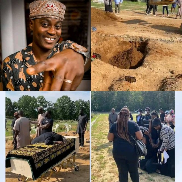 Sound Sultan Burial Photos As He is Laid to Rest