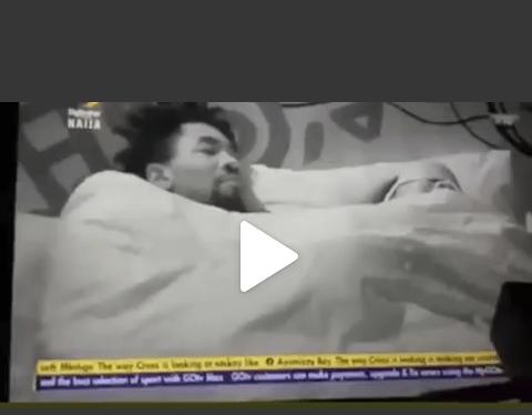 BBNaija 2021: Full S3xTape of Boma and Tega Nacking Under the Duvet As Husband Watched