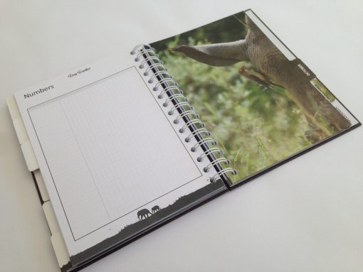 Stationary labels like this rhino writing pad make brilliant gifts. This image was taken in Johannesburg South Africa.