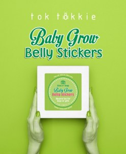 toktokkie Baby Grow Belly – Neutral Gift Box