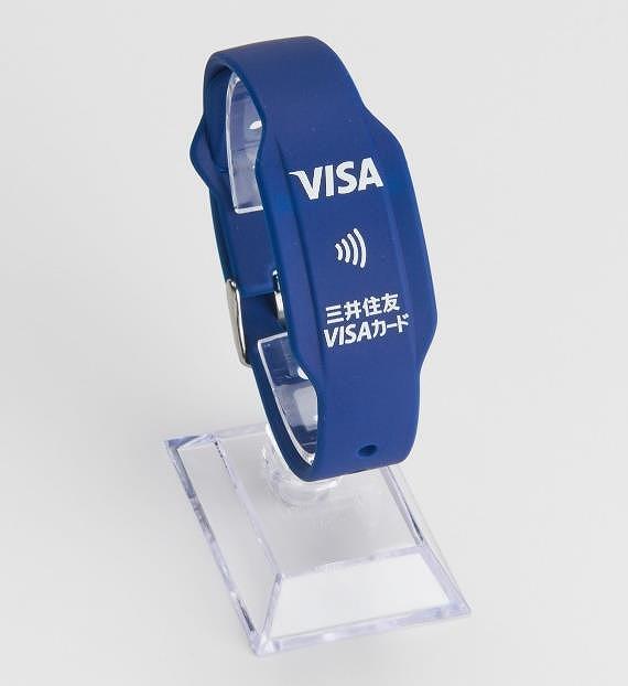 クレジットカードのタッチ決済@リストバンド