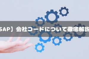 【SAP】会社コードについて徹底解説!