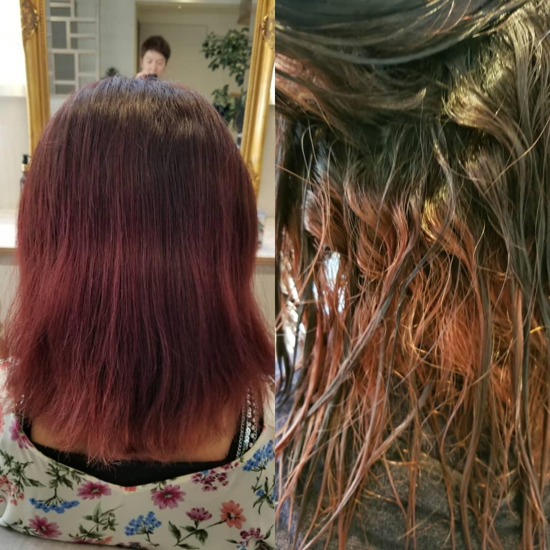 【ハイダメージも劇的変身!】やわらかい縮毛矯正 ストレートエステでツヤと指通りを改善 国分寺 髪質改善 美容室 LAND