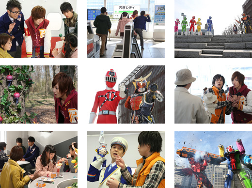 Next Week on Ressha Sentai ToQger and Kamen Rider Gaim: Spring Break Combination Special
