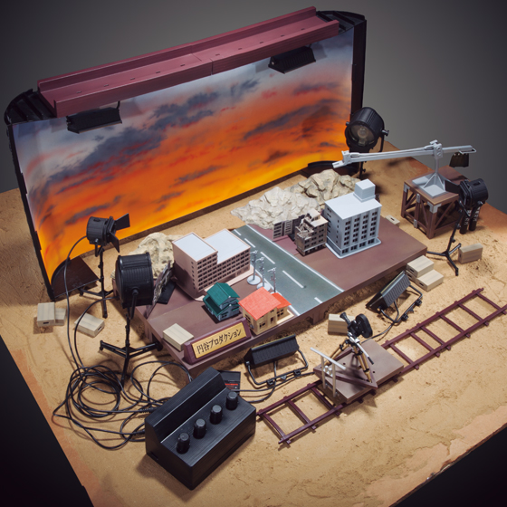 Make Your Own Action Scene With P-Bandai's Diorama Set