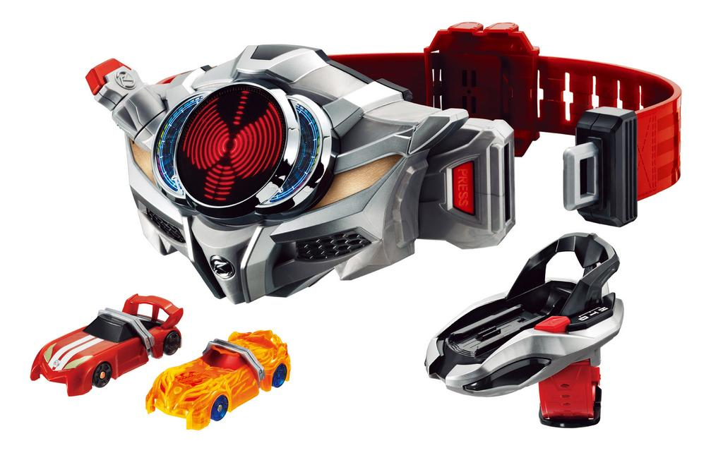 New Images of Kamen Rider Drive's Toy Line
