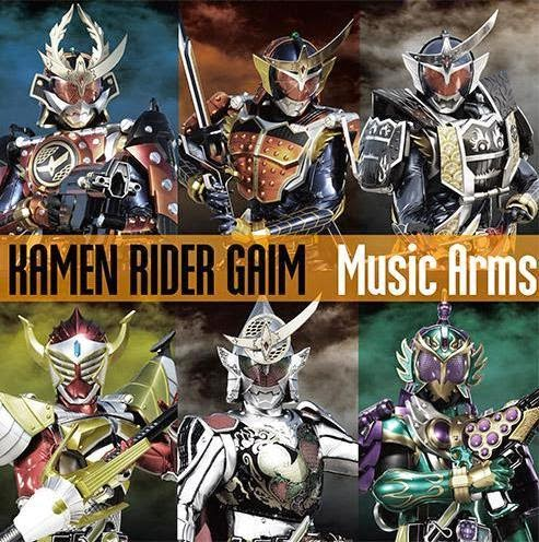 Kamen Rider Gaim Music Arms CD Track Listing Announced