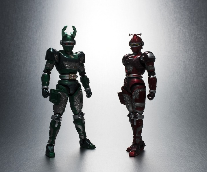 S.H.Figuarts G-Stag and Reddle Teased
