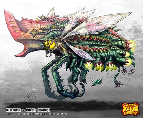 colossal_kaiju_combat___keelhorn_by_kaijusamurai-d80b2jg
