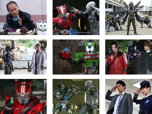 Next Time on Kamen Rider Drive: Episode 9