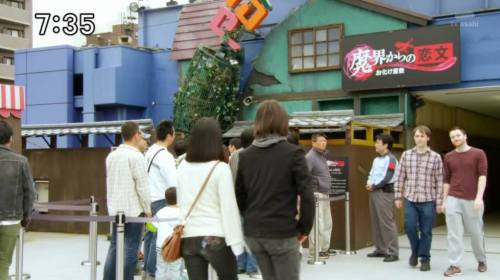 Kevin and Tom's small background cameo in a ToQger episode