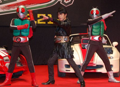 Mitsuhiro Oikawa Announced as Kamen Rider #3 in Superhero Taisen GP
