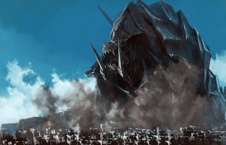Studio Trigger Releases PP33 Kaiju Short