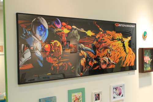 Tatsunoko Productions Tribute Art Show Showing at Q2 Mini Gallery in Los Angeles