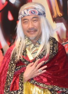 Wise hermit played by Naoto Takenaka.