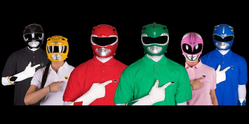Zyuranger/Power Ranger Polo Shirts