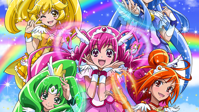 Saban Brands Extends their Trademark for the Anime, Smile! Precure adaptation, Glitter Force
