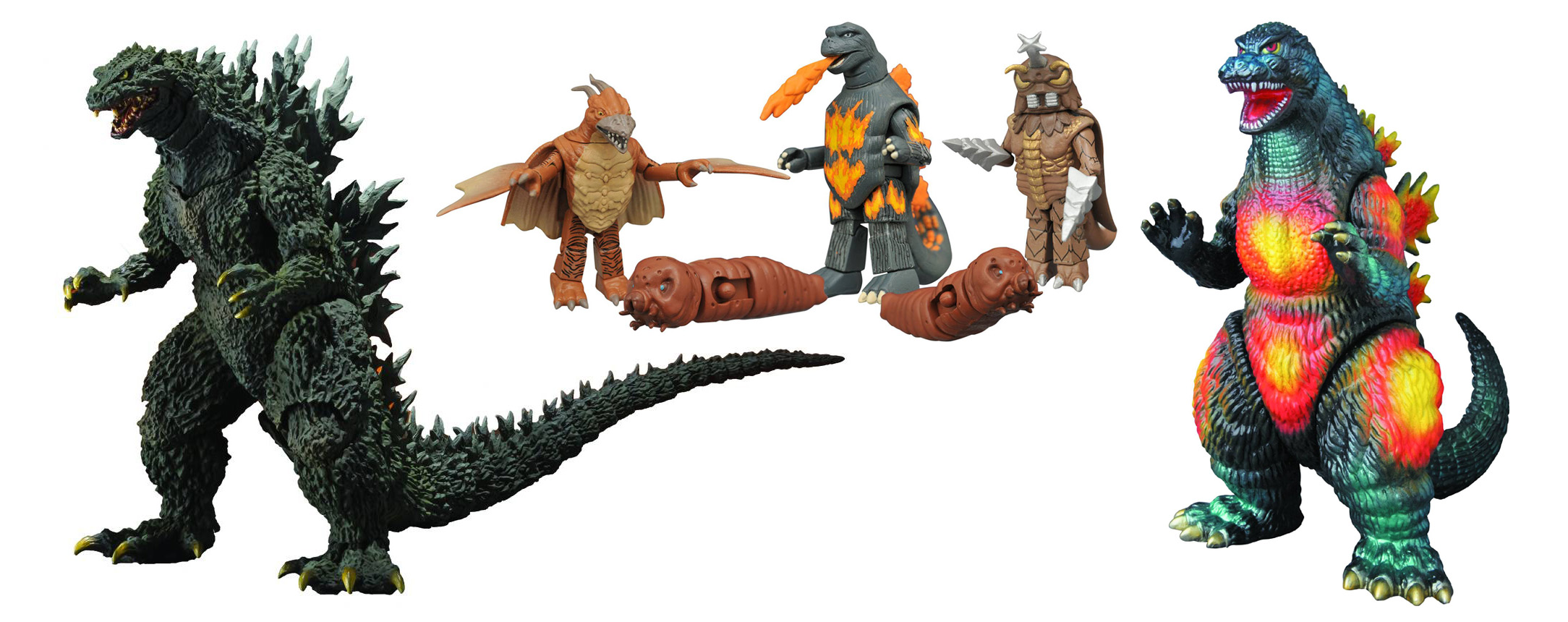 Godzilla Toys Included in November 2015 Diamond Catalog