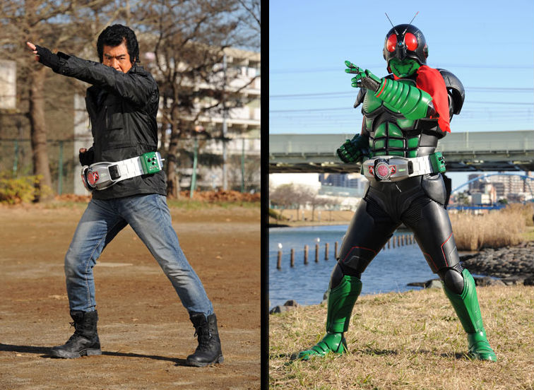 "Hiroshi Fujioka Reprises Role in Upcoming ""Kamen Rider 1"" Movie"