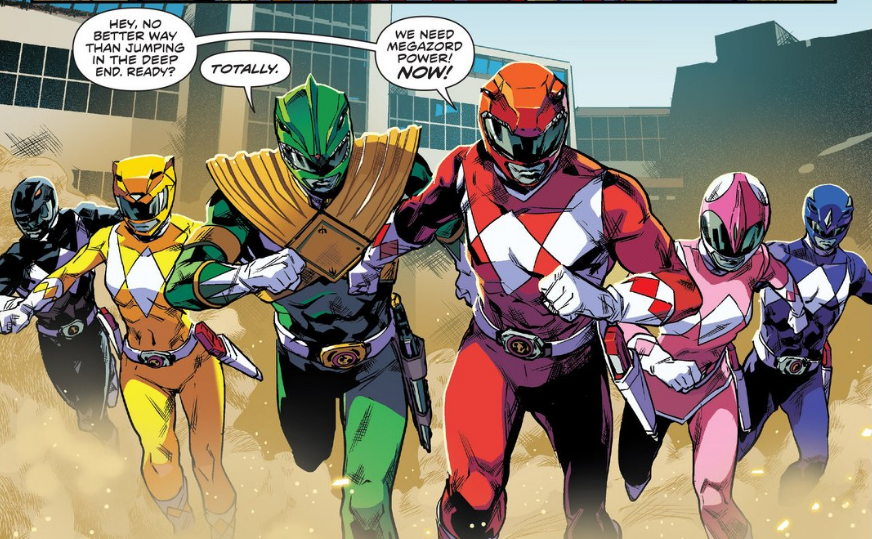 "Interview with Boom! Studios ""Power Rangers"" #0 Writers, Kyle Higgins & Mairghread Scott"