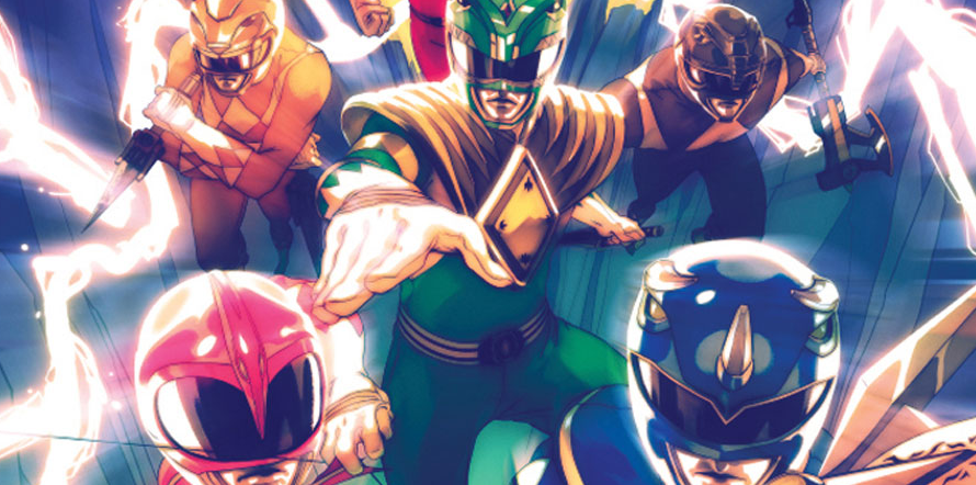 Mighty Morphin Power Rangers Trade Release Date