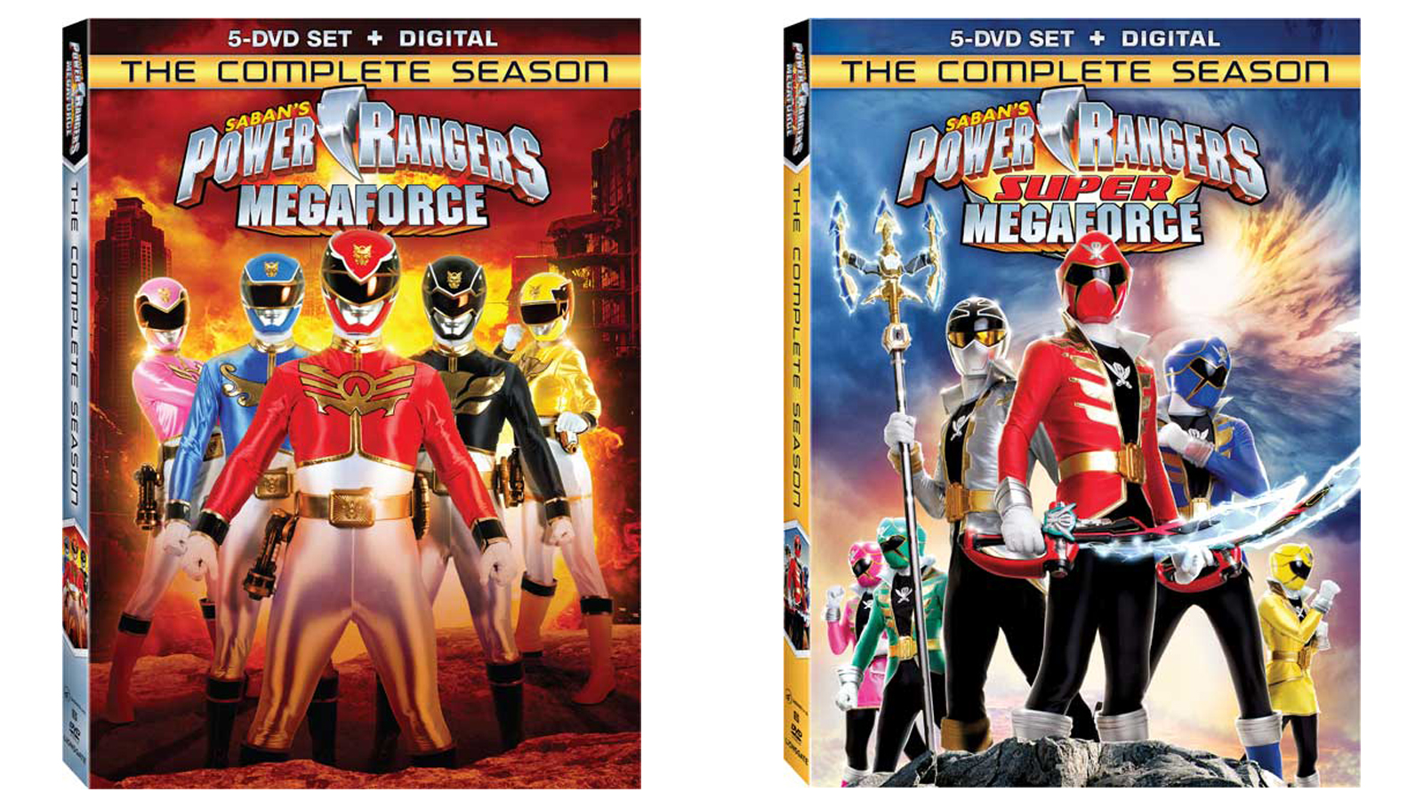 Power Rangers Megaforce Super Megaforce Complete Season Dvds