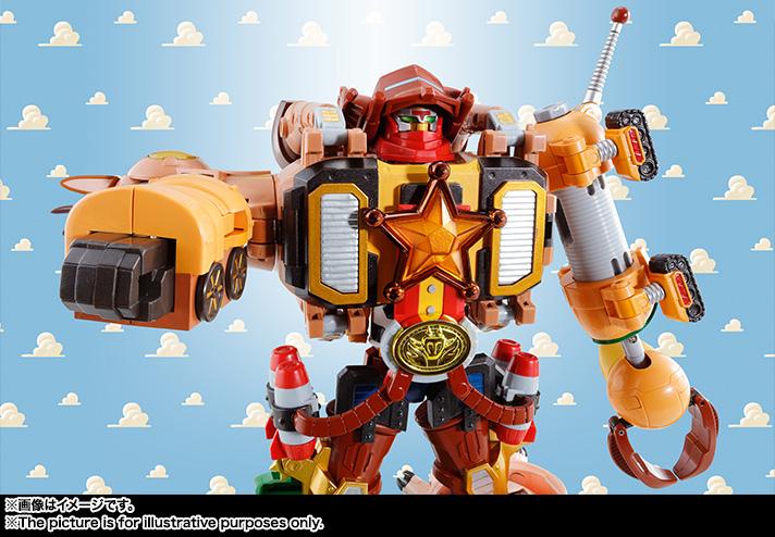 Chogokin Toy Story Combiner – Woody Robo Sheriff Star Announced