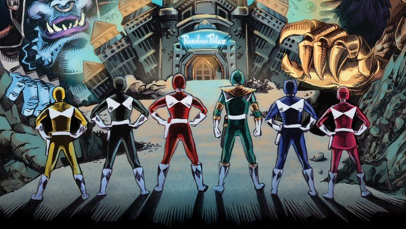 BOOM! MMPR Comic Gets Power Morphicon Exclusive Variant