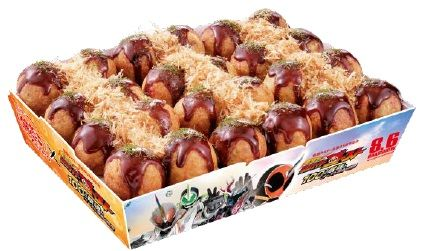 Kamen Rider Ghost Takoyaki to be Released